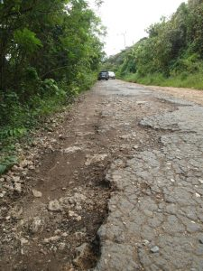 Road to asphalt mines, Buton, South Sulawesi