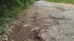 Road to the asphalt mines, Buton, Sulawesi