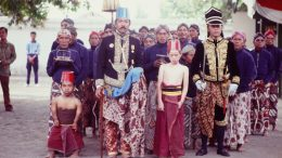 Coronation of the Sultan of Yogyakarta, 1989