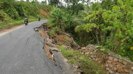 New road in Sangihe, North Sulawesi