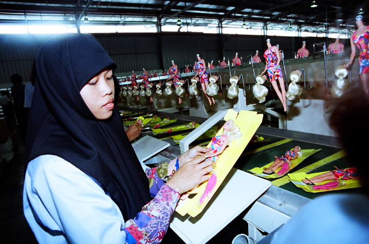 Barbie Factory - Photo: Enny Nuraheni