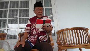 La Ode Muhammad Jafar a week after his inauguration as the 39th Sultan of Buton