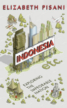 Cover of UK edition of Indonesia Etc.: Exploring the Improbable Nation by Elizabeth Pisani from Granta
