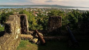 The view from the 'kraton', or fort, in Bau-Bau, Buton - Photo R Heru Hendarto