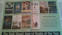Wall Street Journal Best non-fiction books of 1014, Including Indonesia Etc