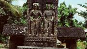 Megalithing tomb in Anakalang, Sumba