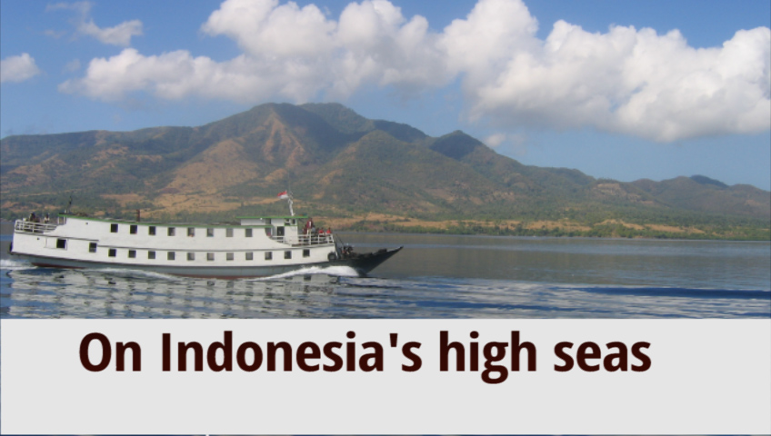 On Indonesia's high seas: 12 months of boat travel across Indonesia