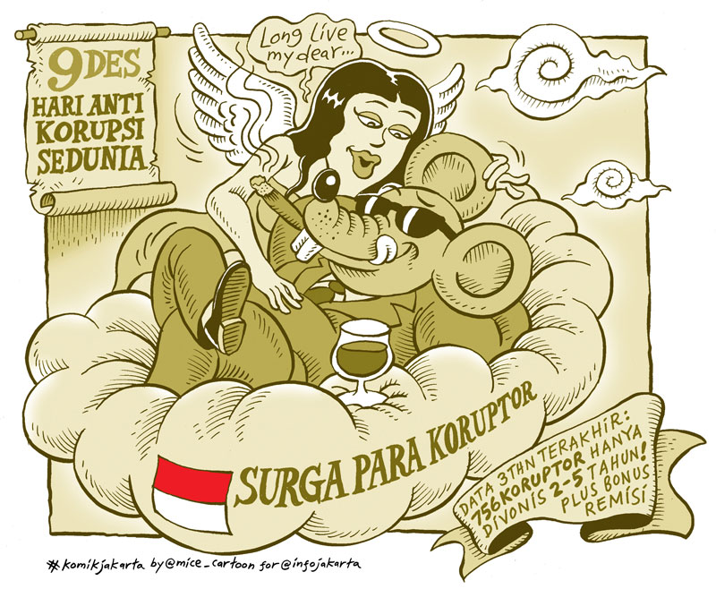 Indonesia: Corruption Heaven, says this cartoon