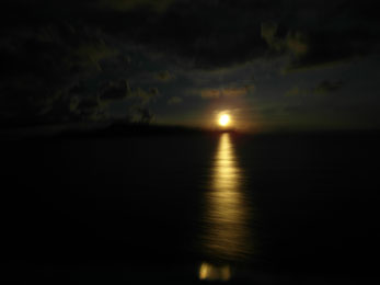 Moonrise in Maluku