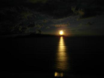 Moonrise in Maluku