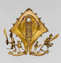 A mamuli marriage ornament from the collection of the Metropolitan Museum of Art