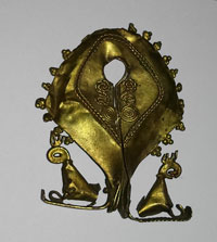 A mamuli marriage ornament from the collection of Elizabeth Pisani