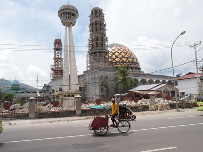 Mosque in Ambon, Indonesia