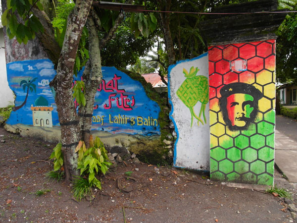 Che meets Bob Marley meets The Prophet in Maluku