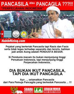 FPI's PancaGila poster