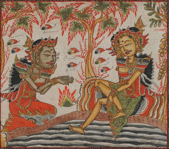 Balinese painting, c 1800