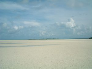 The day of the Asian tsunami. In the Kei islands in Eastern Indonesia, the sea just disappeared