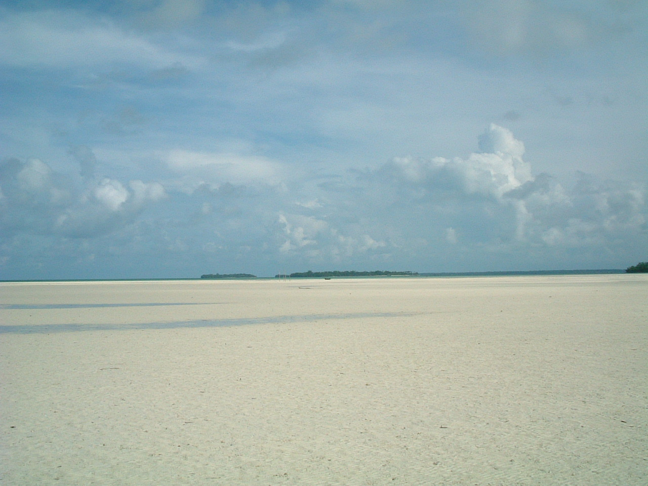 December 26, 2004. During the Aceh tsunami, the sea just disappeared in parts of the Kei islands in Eastern Indonesia.
