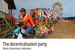 Poitical Partying in Indonesia